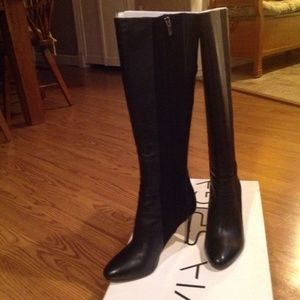 VIA SPIGA BOOTS SUEDE / LEATHER SIZE 6.5